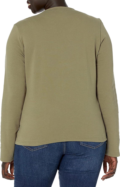 The Drop Women's @caralynmirand Long Sleeve Knit Moto Jacket