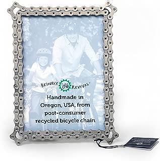 recycled bike chain frame