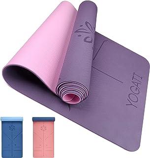 comprar comparacion YOGATI – Esterilla Yoga Antideslizante, Gruesa y Ecológica. Esterillas Yoga Ideal para Deporte en casa, Pilates, Ejercicio...