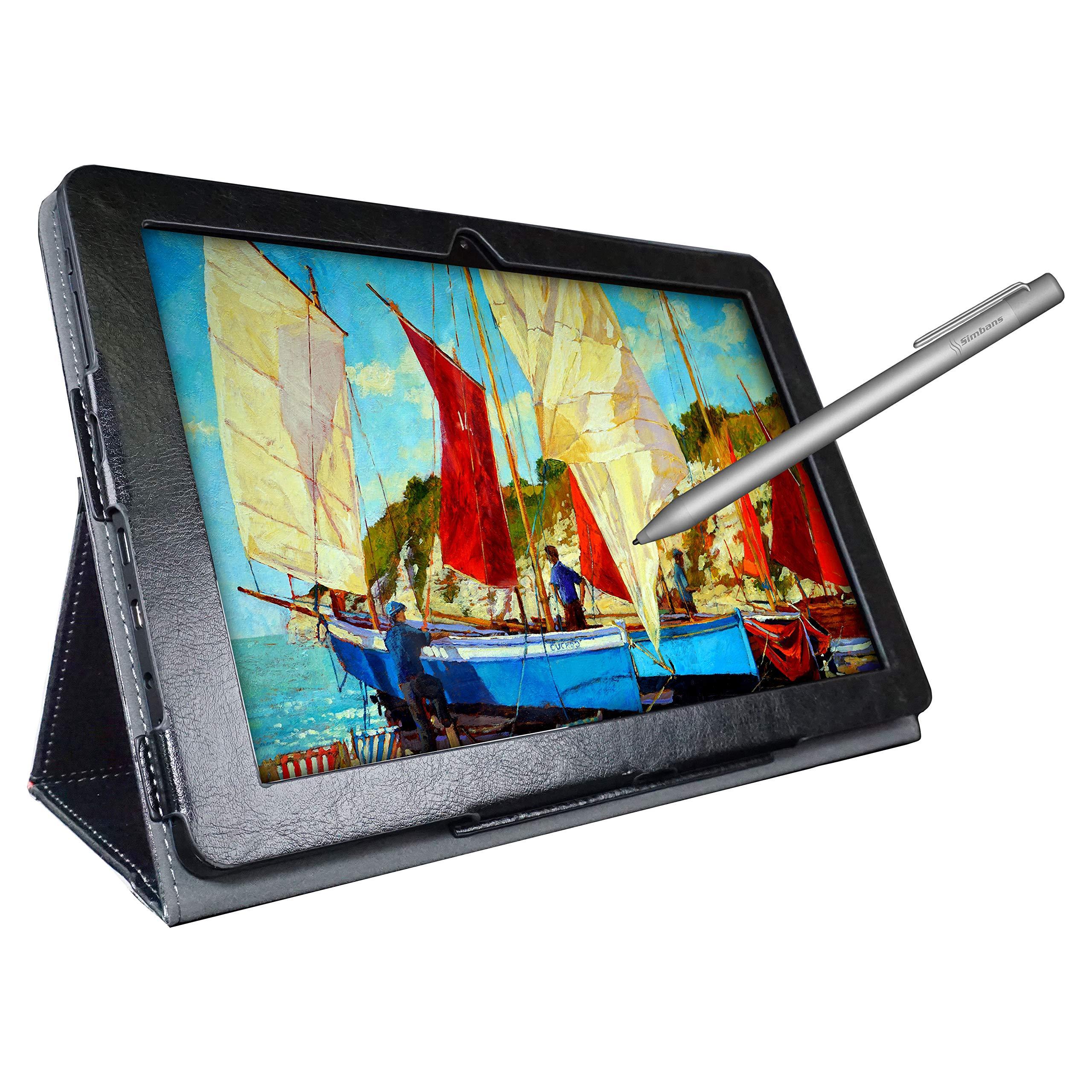 Simbans [4 artículos de bonificación] PicassoTab Tableta de Dibujo de 10 Pulgadas y lápiz óptico, 2GB, 32GB, Android 9 Pie, Principiantes, Artista gráfico, niño, niña - P92: Amazon.es: Informática