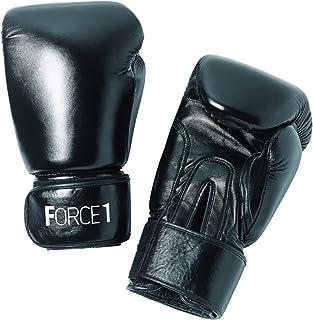 Force1 Boxing Gloves - Black