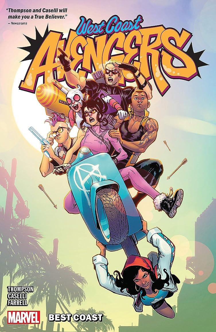 大増強する絵West Coast Avengers Vol. 1: Best Coast (West Coast Avengers (2018-2019)) (English Edition)