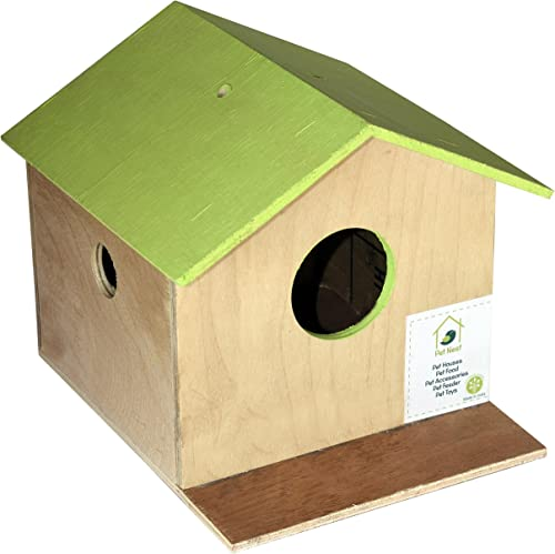 PetNest Bird House Nest Box for Sparrow, Budgies and Finches for Bird Breeding Best Return Gift for Kids (1 Nos)