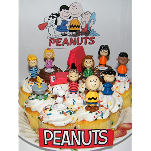 Cool Edible Peanut Characters Cake Cupcakes Charlie Brown Pictures Personalised Birthday Cards Paralily Jamesorg