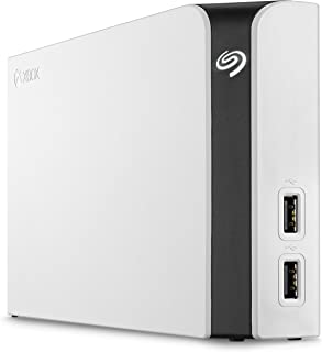Seagate Game Drive Hub for Xbox 8TB External Hard Drive Desktop HDD with Dual USB Ports – White, Designed for Xbox One (STGG8000400)