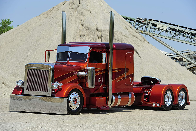 Black Creations American Truck 2 Car Poster Canvas Picture Art Print Premium Quality A0 A1 A2 A3 A4 (A0 Canvas (30 40)) (A0 Canvas (30 40))