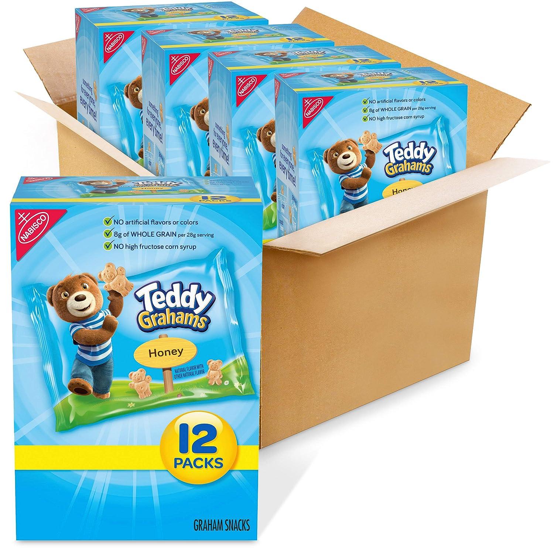 Max 47% OFF Teddy Grahams Honey 100% quality warranty Graham Snacks Box Lunch 4 School Bo