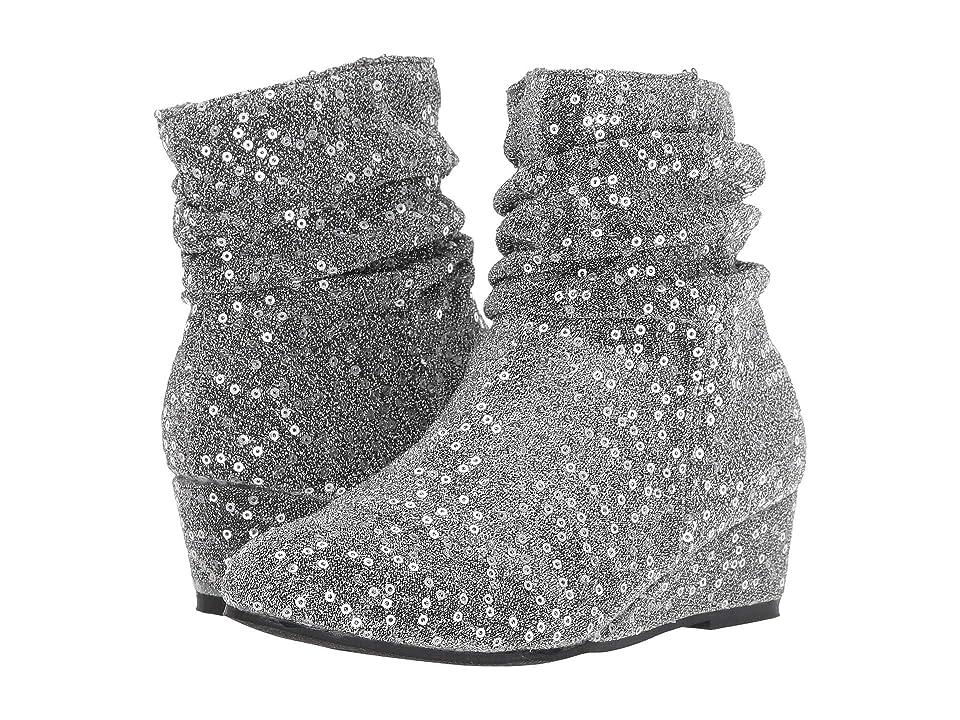Steve Madden Kids Jcrush (Little Kid/Big Kid) (Pewter) Girls Shoes