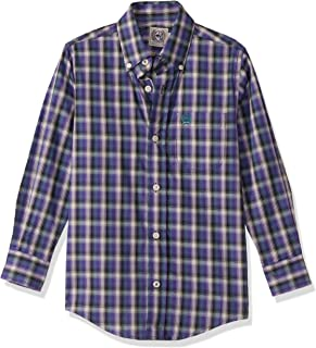 Cinch Boys Long Sleeve Printe D Shirt Long Sleeve Button Down Shirt