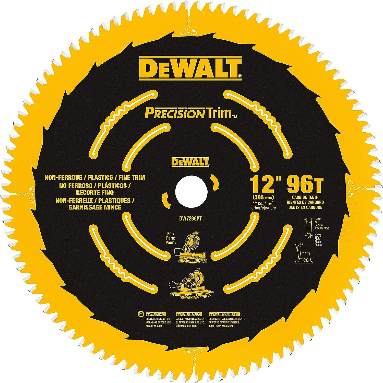 DEWALT 12-Inch Miter Saw Blade ATB Crosscuttin Trim Ranking TOP6 Classic Precision