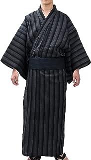 Men's Kimono Japan Shijira Weaving Yukata