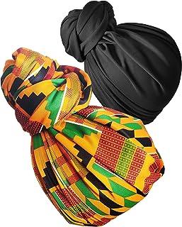 بسته بندی سر روسری و روسری بسته بندی سر زنانه عمامه بسته بندی کشش کششی جرسی بلند و سر بند عمامه 1 یا 2