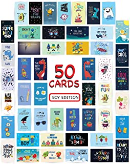 Lunch Box Cards Pack of 50 individual fun love notes for kids 2