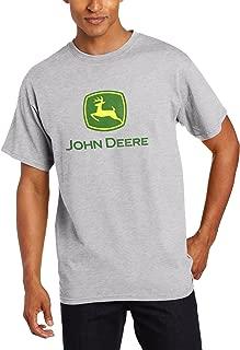 Yustery Camiseta de manga corta para hombre con logo de John Deere