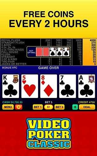 『Video Poker Classic ™』の4枚目の画像