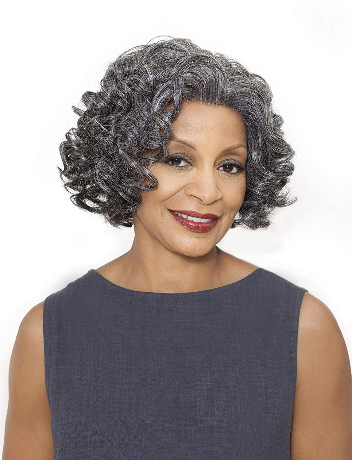 Foxy Finally popular brand Indefinitely Silver Yvonne - Synthetic Front in 3T44 Lace Wig