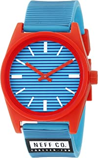 Neff Unisex NF0201BSCY Daily Analog Display Japanese Quartz Blue Watch