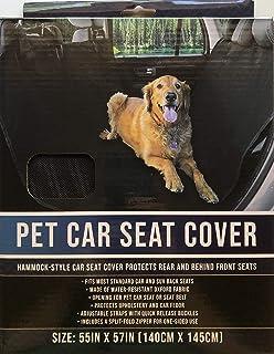 Brooklyn Pet Car Seat Cover-Hammock Style