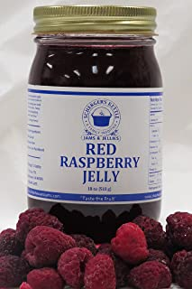 Red Raspberry Jelly, 18 oz