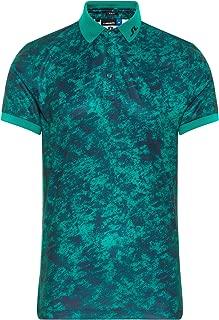 J.Lindeberg Men's Slim Fit Tour Tech Tx Jersey Polo Shirt