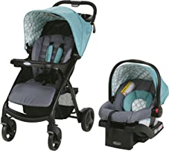 graco teal travel system