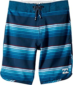 Billabong Kids - 73 X Line Up Boardshorts (Big Kids)