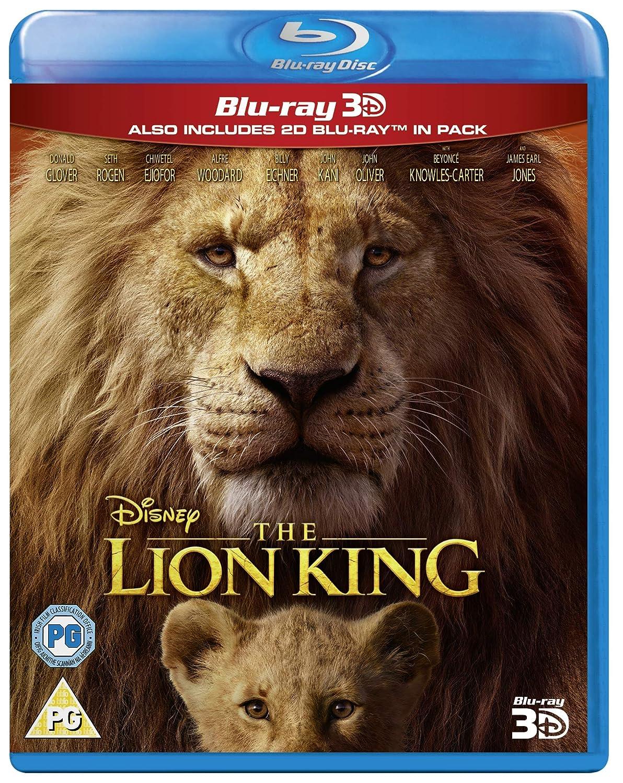 Amazon.com The Lion King [Blu ray 20D] [20] [Region Free ...