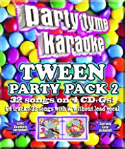 Party Tyme Karaoke - Tween Party Pack 2 [4 CD][32+32-Song Party Pack]