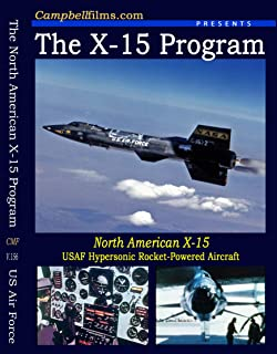North American X-15 Rocket Powered Manned winged Test Aircraft