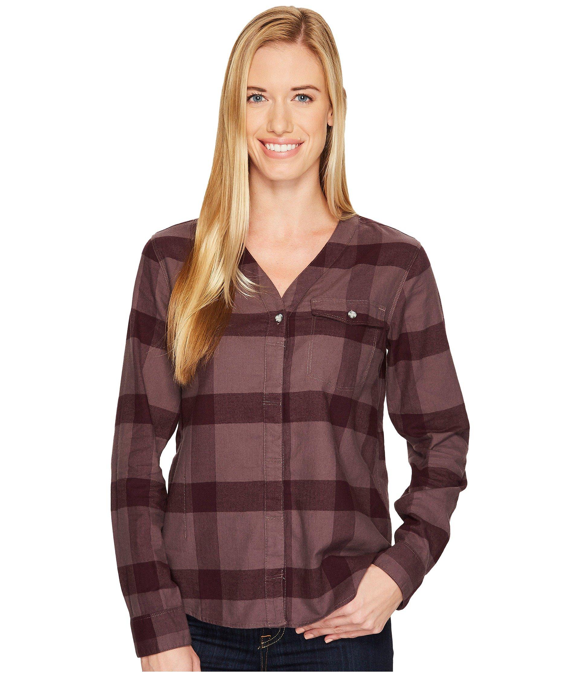MOUNTAIN HARDWEAR Pt. Isabel Long Sleeve Shirt, Purple Sage
