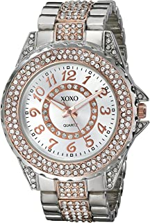 XOXO Women's XO5740 Analog Display Analog Quartz Silver Watch