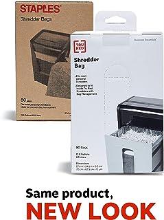 Staples Shredder Bags, 15.8 Gal, 50 Count