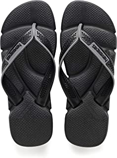Havaianas Men's Power Flip Flop Sandals, Comfort Designed Footbed, Grippy Outsole