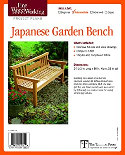 Best japanese garden bench project plan Reviews