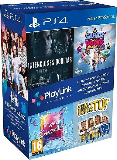 Pack PlayLink: Has Sido Tú / Singstar Celebration / Saber Es Poder / Intenciones Ocultas