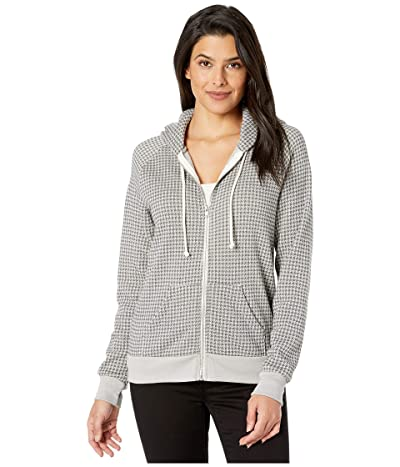 Alternative Printed Adrian Hoodie (Grey Houndstooth) Women