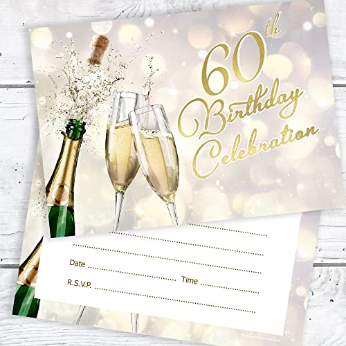 Olivia Samuel 60th Birthday Celebration Invites