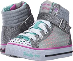 SKECHERS KIDS Twinkle Toes - Shuffles 10812L Lights (Little Kid/Big Kid)