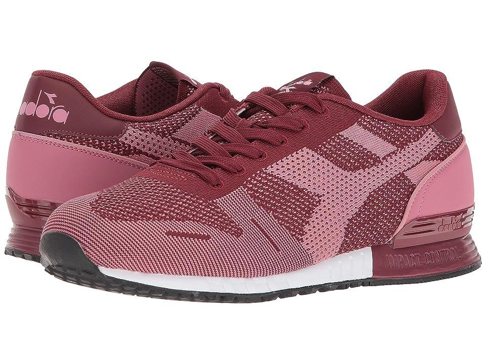 Diadora Titan Weave (Cordovan/Mesa Rose) Athletic Shoes