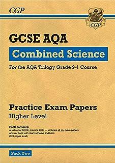 Grade 9-1 GCSE Combined Science AQA Practice Papers: Higher Pack 2