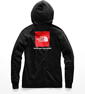 Women's Red Box Pullover Hoodie - TNF Black & TNF White - L