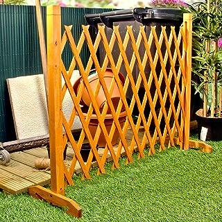 La expansión de la cerca del jardín de la pantalla Trellis Estilo expande a 6'4