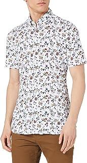 Pierre Cardin Men's Semi Dress Jersey Kurzarm Hemd Shirt