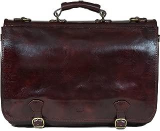 medici leather messenger bag