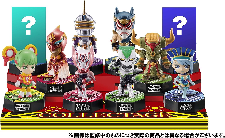 Collectage TIGER & BUNNY (w base) (10pcs) (Shokugan) (japan import)
