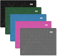 UESTA A2 (24L x 18W Inch) (600 x 450 mm) Self Healing 5 Layers PVC Colorful Cutting Mat (Pink)