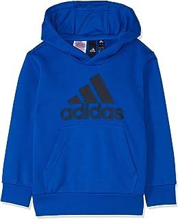 6bf63fc64 adidas Kids Boys Hoodie Running Essentials Logo Training School Gym DJ1751