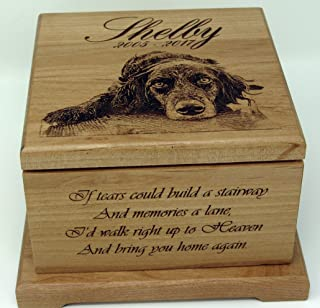 Pet Memorial urn Dog lovers gift Pet Cremation Urn Memorial Gifts Custom urn Personalized Dog urn Cat Memorial Pet Memorial Pet Portrait