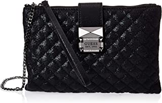 Guess Womens Cross-Body Handbag, Black - SM767569