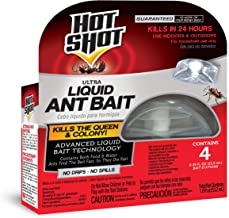 Hot Shot 100046261 Ultra Liquid Ant Bait, 4-Count, Pack of 1